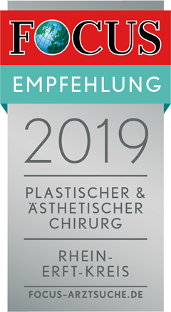 Auszeichnung des FOCUS für Dr. med. Rossbach als empfehlenswerter Plastischer und Ästhetischer Chirurg